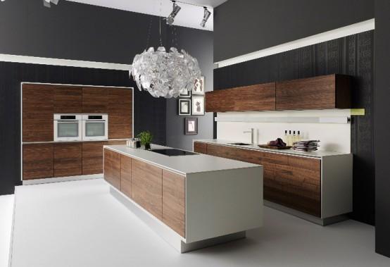 Handle-Less Natural Kitchen Design - Vao by Team7 - DigsDi