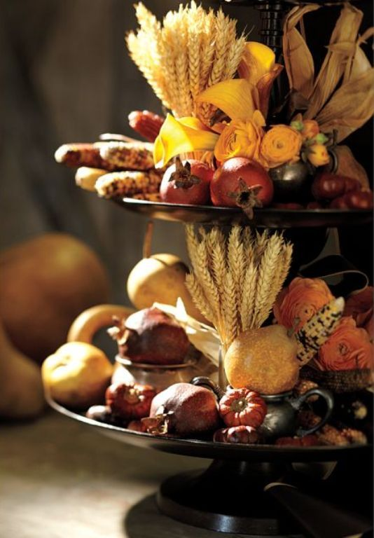 35 Harvest Decoration Ideas For Thanksgiving | DigsDigs | Harvest .