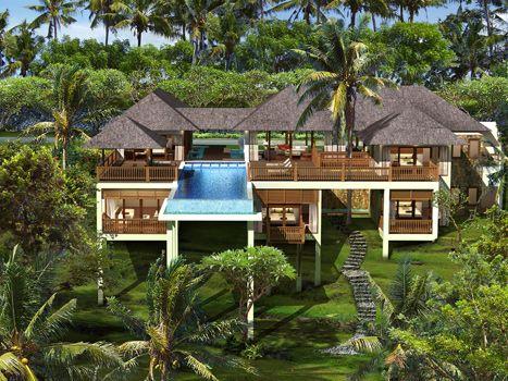 Tropical Architecture Group, Inc.- Modern Hawaiian & Balinese .