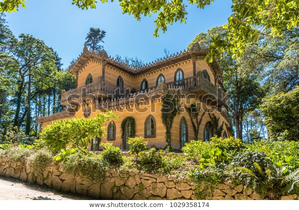 Sintra Portugal 16 August 2017 Chalet Stock Photo (Edit Now .