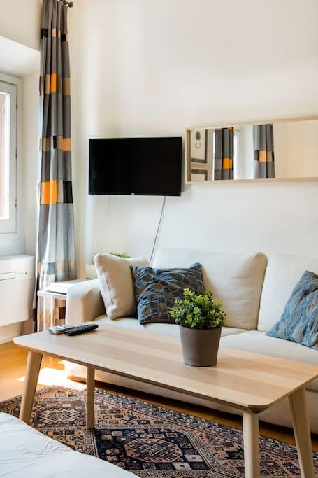 Minimalist Sanitized Redesigned Gorgeous Historic Apartment .