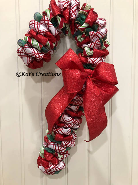 Candy Cane wreaths are very popular this year and this one will .