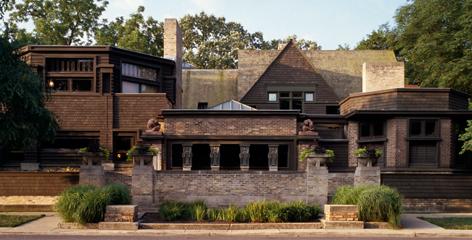 Frank Lloyd Wright Home and Studio   Frank Lloyd Wright Tru