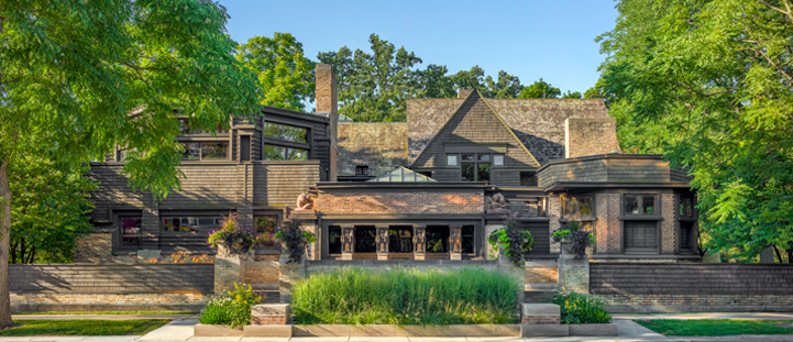 Visit Wright's Historic Sites Across Chicago and Oak Park   Frank .