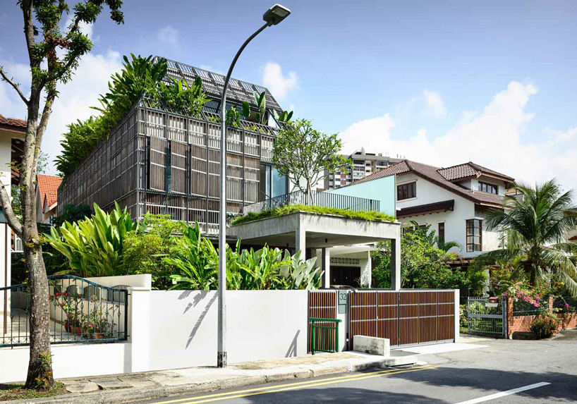HYLA architects wraps house in singapore in operable façade of .