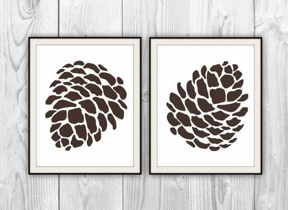 Pin by A. Sue on Home Inspiration | Pine cone art, Pinecone tattoo .