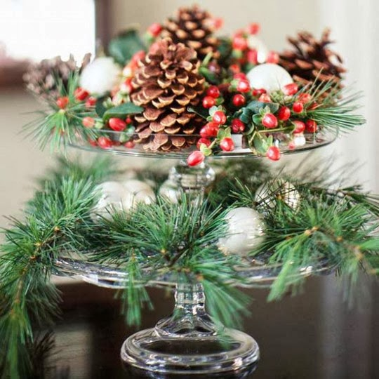 Home Inspiration Design: Christmas Decoration: 10 Green Ideas with .