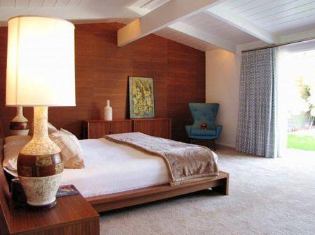 24 Mid-Century Modern Bedroom Decorating Ide