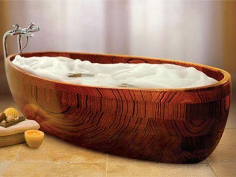 Barbara Radziwill as a contemporary woman | Wooden bathtub, Wood .
