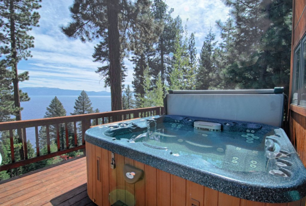 Luxury Home with Hot Tub and Amazing Lake Views ~ Property #148 .