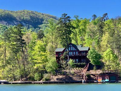Amazing Lake Front Log Cabin - Lake Lu
