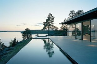 Modern Swedish Dream Home with Amazing Lake Views - DigsDi