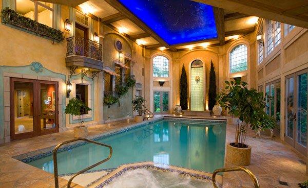 20 Amazing Indoor Swimming Pools | Home Design Lov