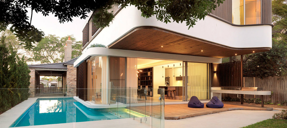 Architecture: A Modern House Design with an Impressive Swimming .