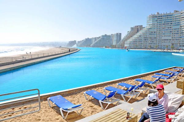 The world's largest and most impressive swimming pool | Big .