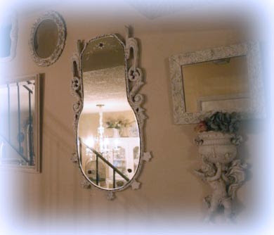 My Romantic Home: My Mirrored Stairca