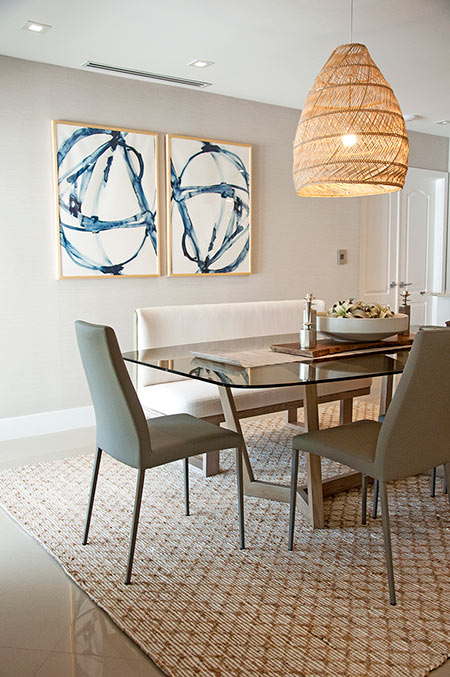 Home Decorating Project: Dining Room Decor with Wonderful Textures