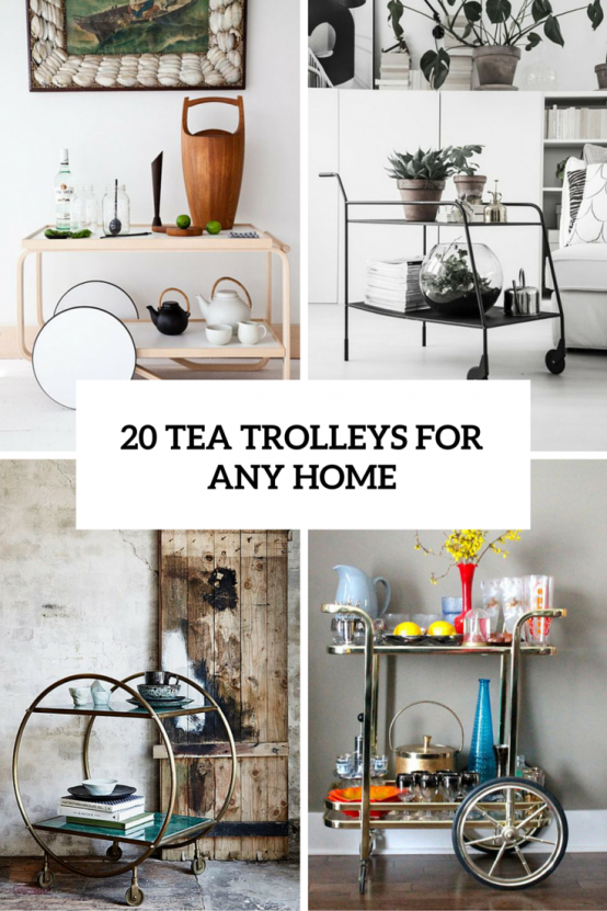 Hospitality Trend: 20 Cool Tea Trolleys For Your Home   Ikea billy .