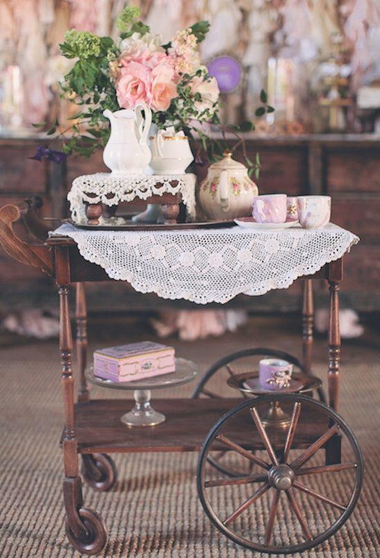 30 Vintage Tea Party Decor And Treats Ideas   Vintage tea parties .