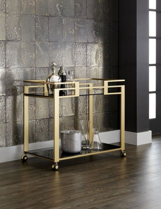 Hospitality Trend: 20 Cool Tea Trolleys For Your Home - DigsDigs .