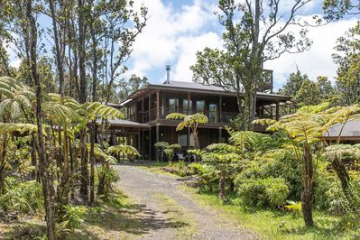 Volcano Forest House next to Volcano National Park * Discounts .