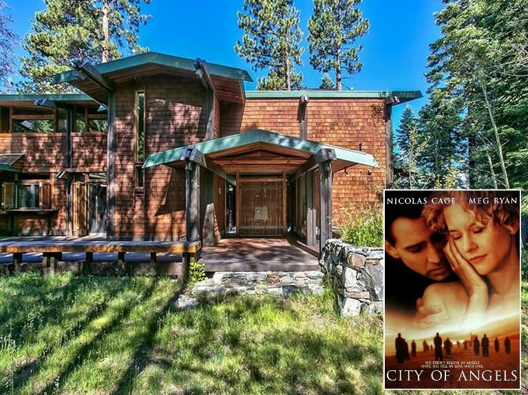 """South Lake Tahoe Cabin from """"The Bodyguard"""" and """"City of Angels ."""