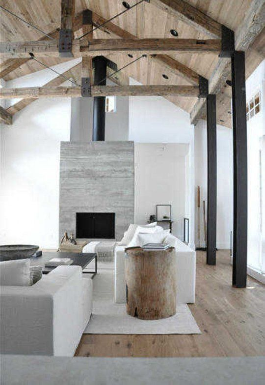 Architectural Elements: Amazing Exposed Timber Beams & Trusses At .