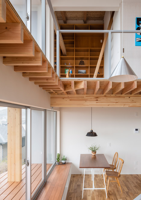 Snark And Ouvi's House For An Illustrator Features Exposed Wooden .