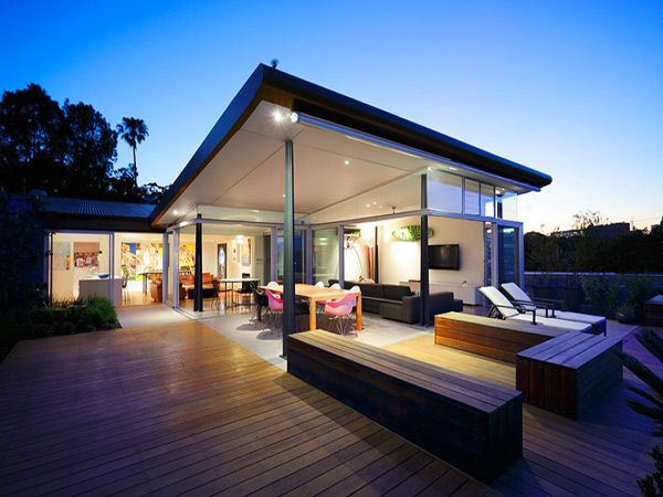 Indoor Outdoor Home Plans   Contemporary house design, House .
