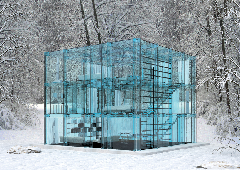 Transparent Glass House Concept: Most Beautiful Houses in the Wor