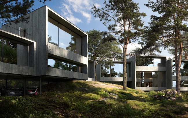 Forest house concept by Imo