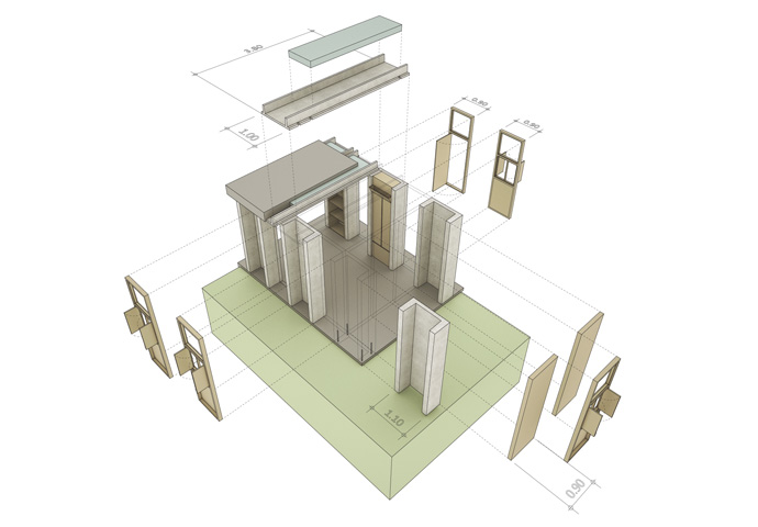 Research Toward a Concept House for Ind