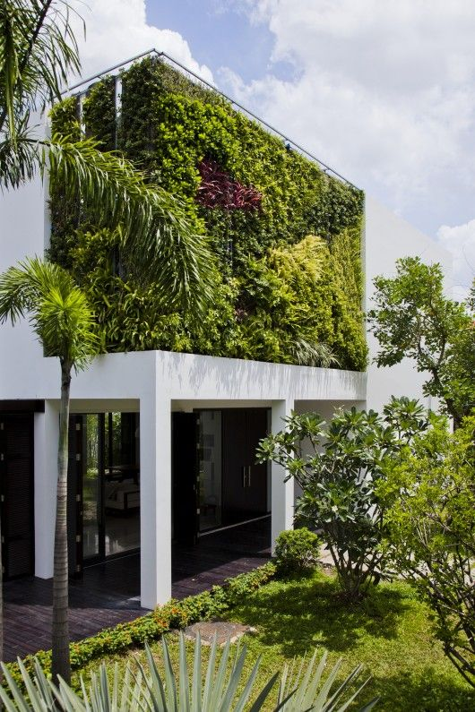 Thao Dien House / MM++ architects | Green architecture, Vertical .