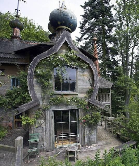 Funky weathered wood house. | Architecture, Beautiful buildings .