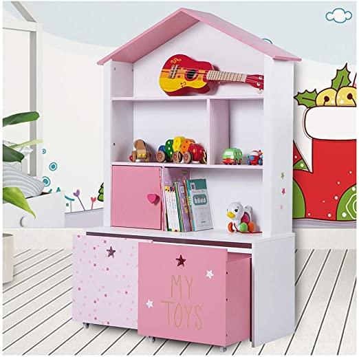 Amazon.com: LUCKUP Kids Furniture Children Dollhouse Cottage Wood .