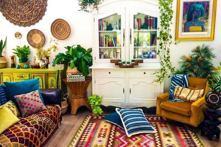 Colorful Global Boho Home Tour: La Boheme House - Casa Watkins .