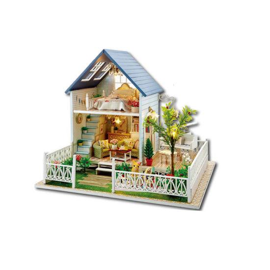 China Modern Handmade Colorful Miniature DIY Furniture Doll House .