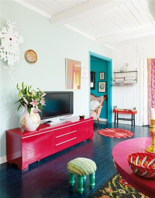 25 Bright Interior Design Ideas and Colorful Inspirations for Home .