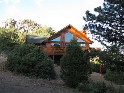 Luxury Home, Breathtaking Views, Hot Tub, Colorado Rocky .