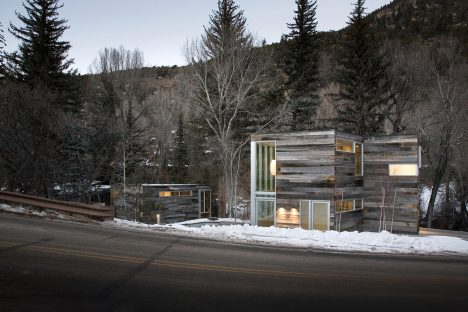 Studio B adds two separate volumes to Riverside House in Colorado .