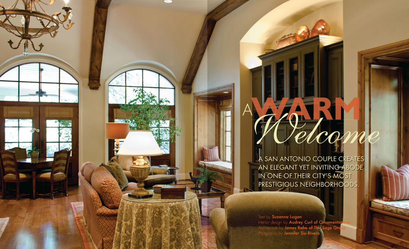 A Warm Welcome.   Ornamentations   Interior Design and Decoration .