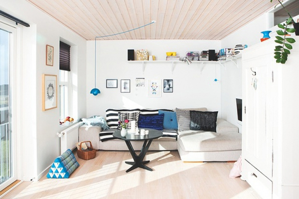Wooden ceilings in a Scandinavian house – Adorable Ho