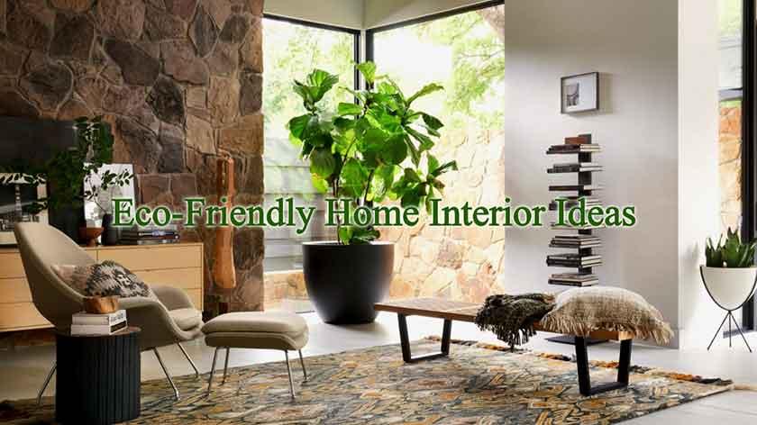 Eco-Friendly Interior Decor Ideas To Make Your Home Beautif