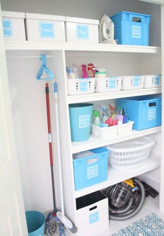 how-to-smartly-organize-your-laundry-space- 39 | Laundry room .