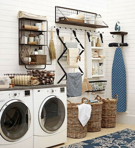 how-to-smartly-organize-your-laundry-space-5 - DigsDigs | Laundry .