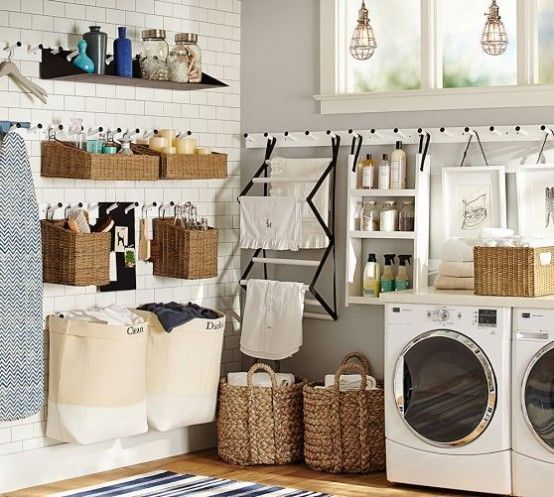 How To Smartly Organize Your Laundry Space: 37 Ideas | Laundry .