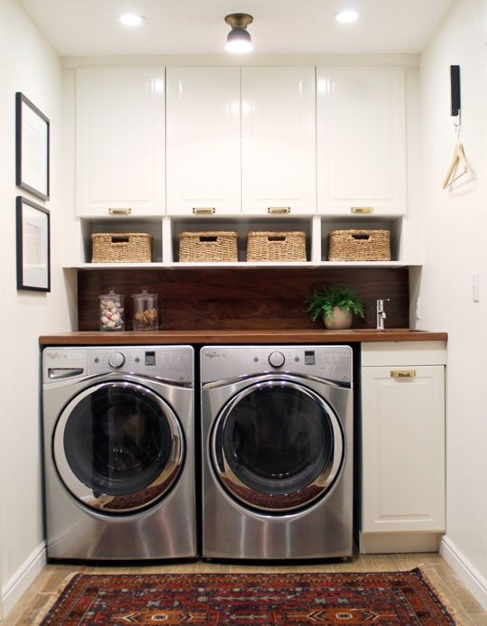 How To Smartly Organize Your Laundry Space: 37 Ideas - DigsDi