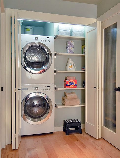 How To Smartly Organize Your Laundry Space: 37 Ideas | Small .