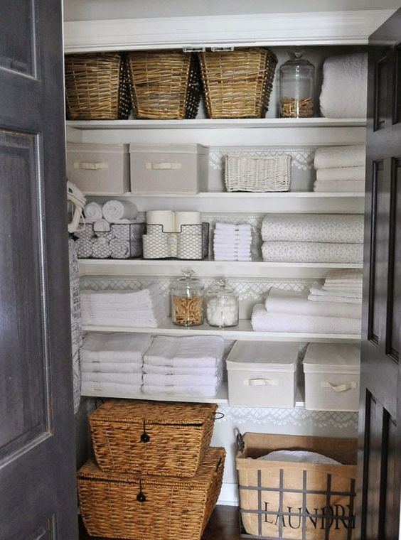 Picture Of how to smartly organize your laundry space 32 | Linen .