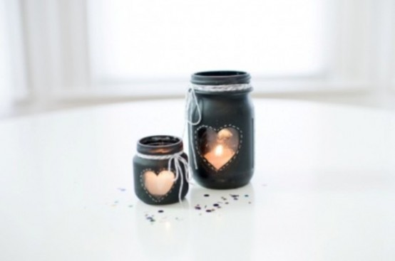 How To Use Mason Jars In Home Décor: 25 Inpsiring Ideas - DigsDi